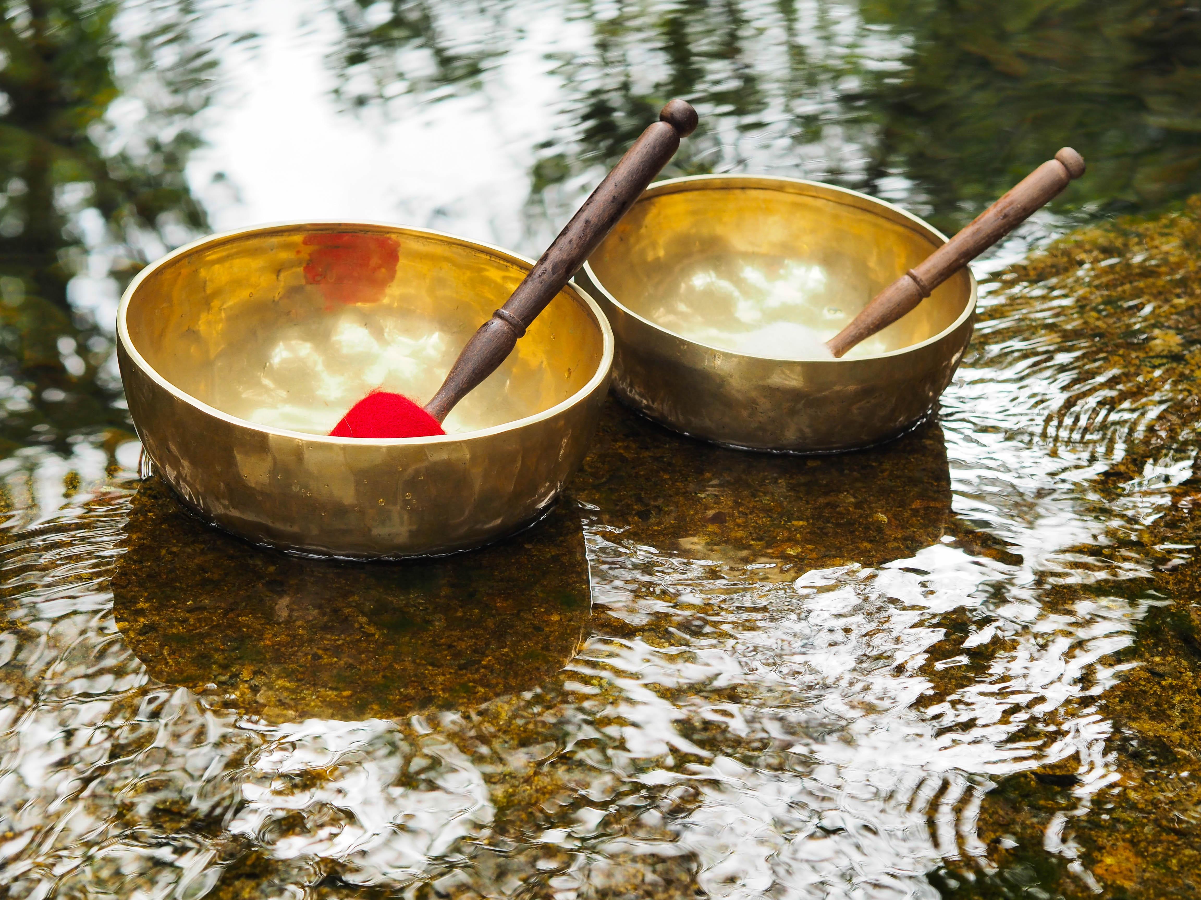 Bali Retreat, Sound bowl balancing