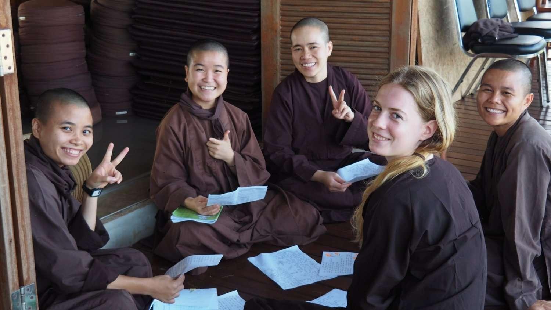 Mindfulness at Plum Village Thailand