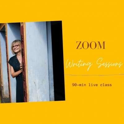 Zoom writing Group