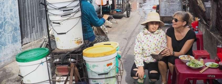 streetfood vendor, Hoi An, Vietnam