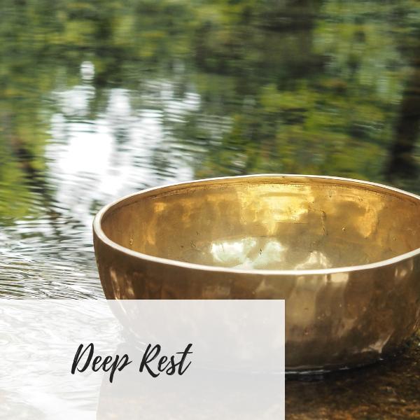 Write Your Journey   Singing Bowl Image   Deep Rest Meditation